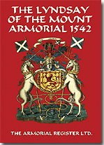 The Lyndsay of The Mount Armorial 1542.